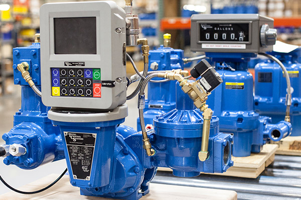 Positive Displacement Flow Meters Total Control Systems